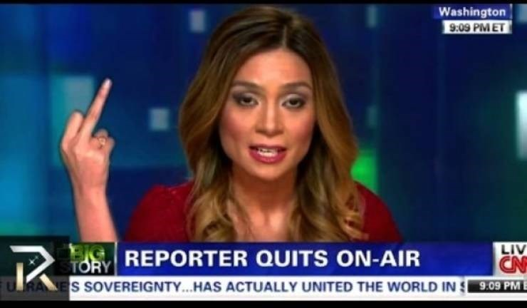 funny quit job - News - Washington 9:09 PMET LIV CN RALES SOVEREIGNTY...HAS ACTUALLY UNITED THE WORLD IN 9.09 PMB TORY REPORTER QUITS ON-AIR