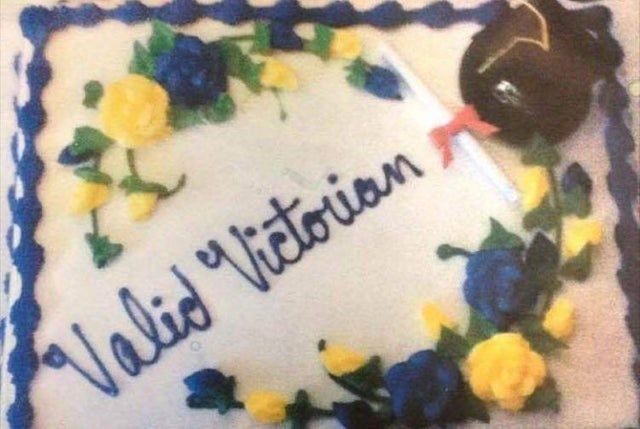 "Cake decorating - Valid ""Victorian"