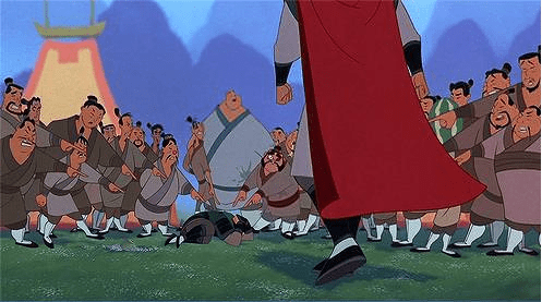 Funny Picture - Mulan retold