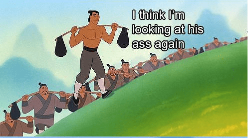 Funny Picture - Animated cartoon - 0 think I'm looking at his ass again