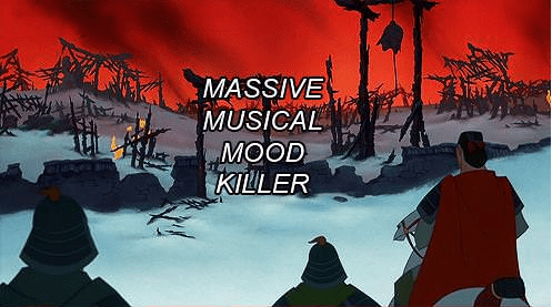 Funny Picture - Action-adventure game - MASSIVE MUSICAL MOOD KILLER