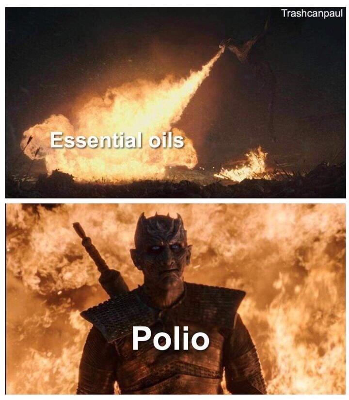 Meme - Movie - Trashcanpaul Essential oils Polio