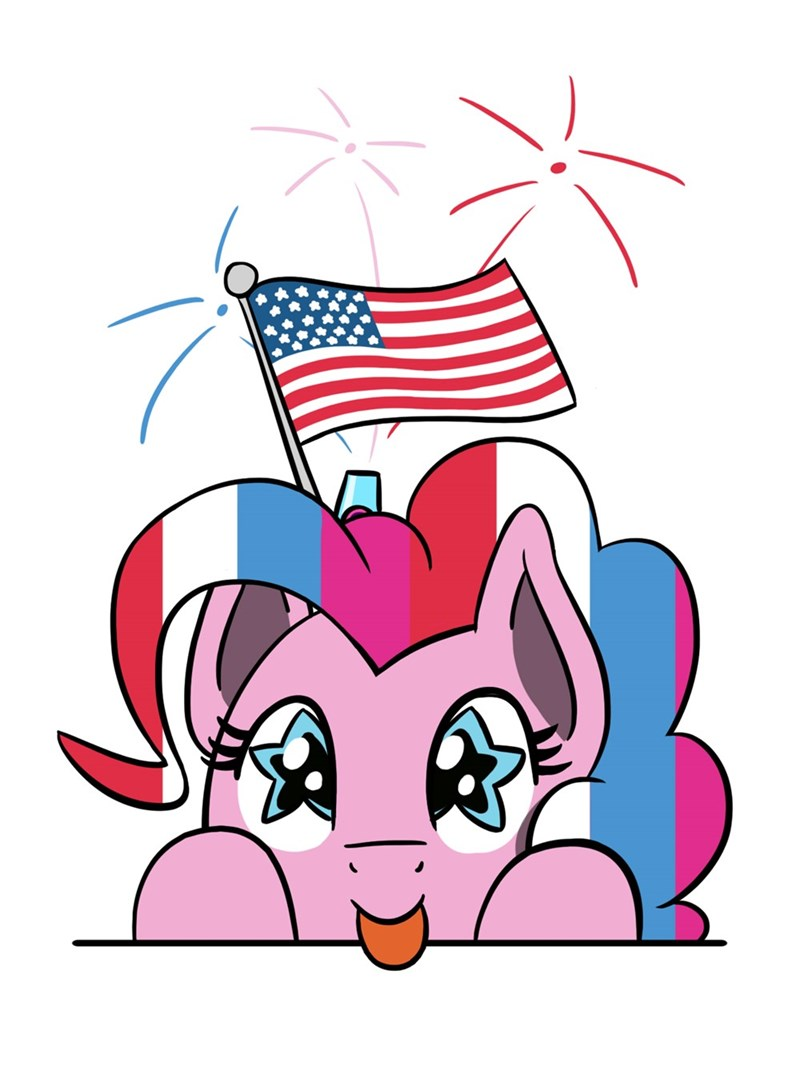 pinkie pie fourth of july flutterluv - 9327482112