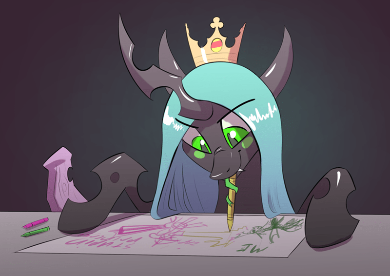 underpable chrysalis changelings - 9327482624