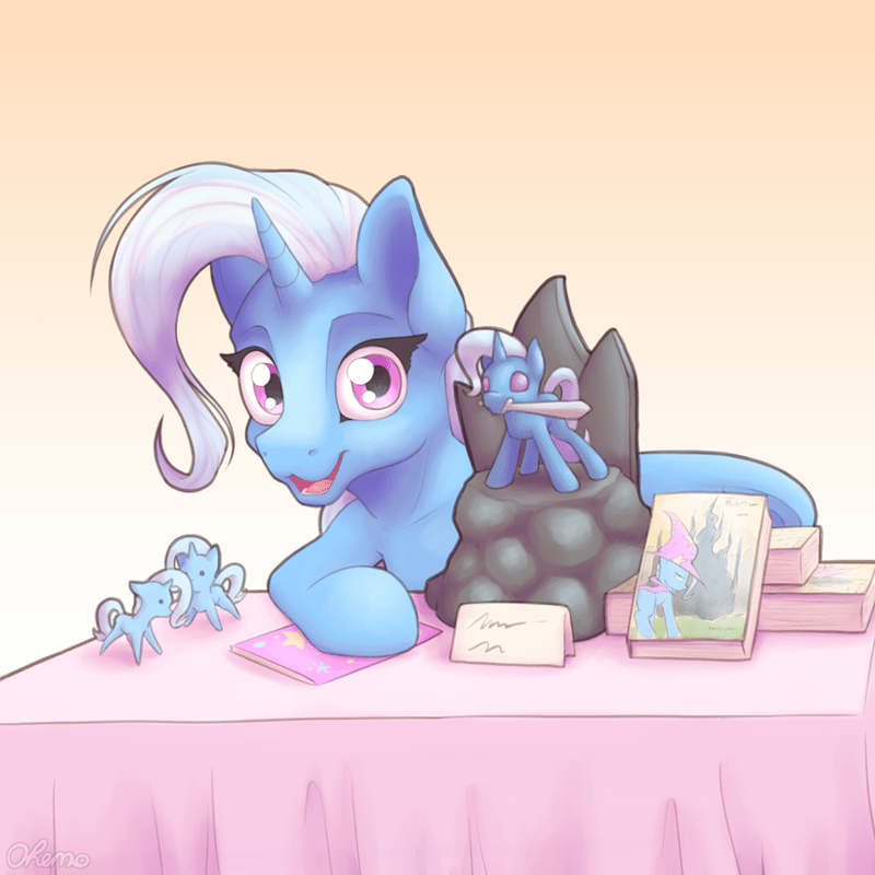 ohemo the great and powerful trixie - 9327483136