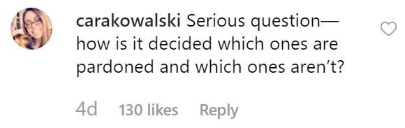 piglet - Text - carakowalski Serious question- how is it decided which ones are pardoned and which ones aren't? 4d 130 likes Reply