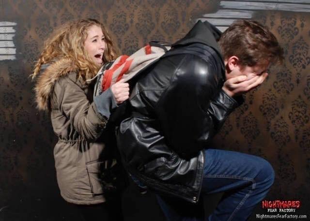 Jacket - NIGHMARES FEAR FACTORY NightmaresFearFactory.com