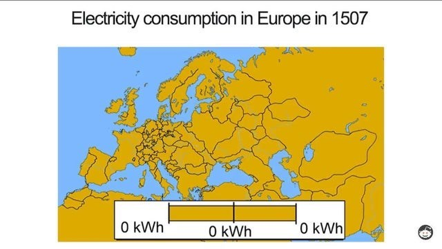 meme - Text - Electricity consumption in Europe in 1507 0 kWh 0 kWh O kWh