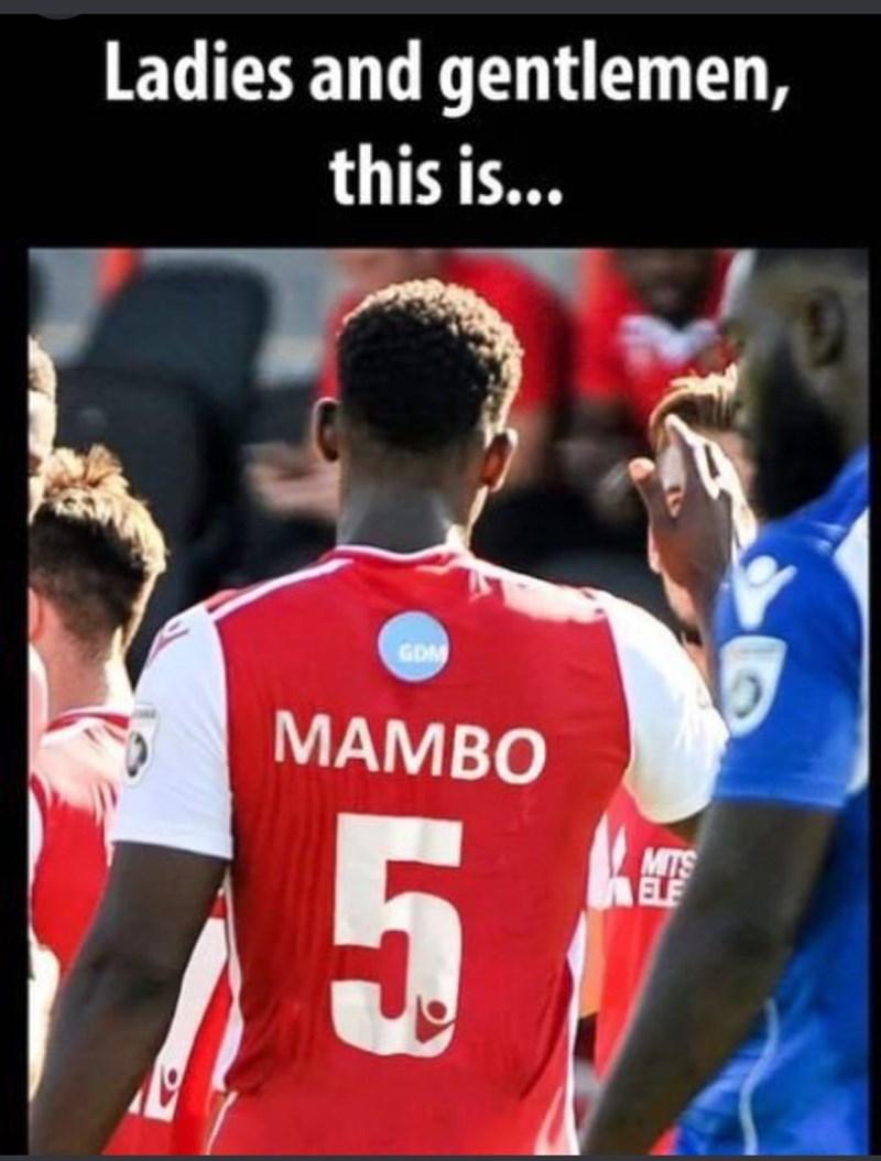 music meme - Player - Ladies and gentlemen, this is... GDM MAMBO 5 MITS ELF