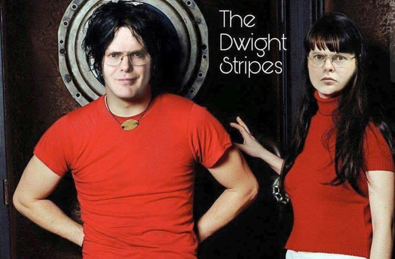 music meme - Black hair - The Dwight Stripes