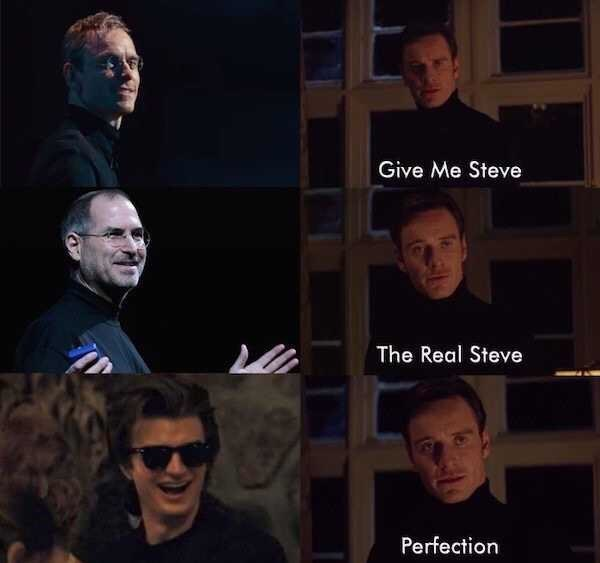 Face - Give Me Steve The Real Steve Perfection