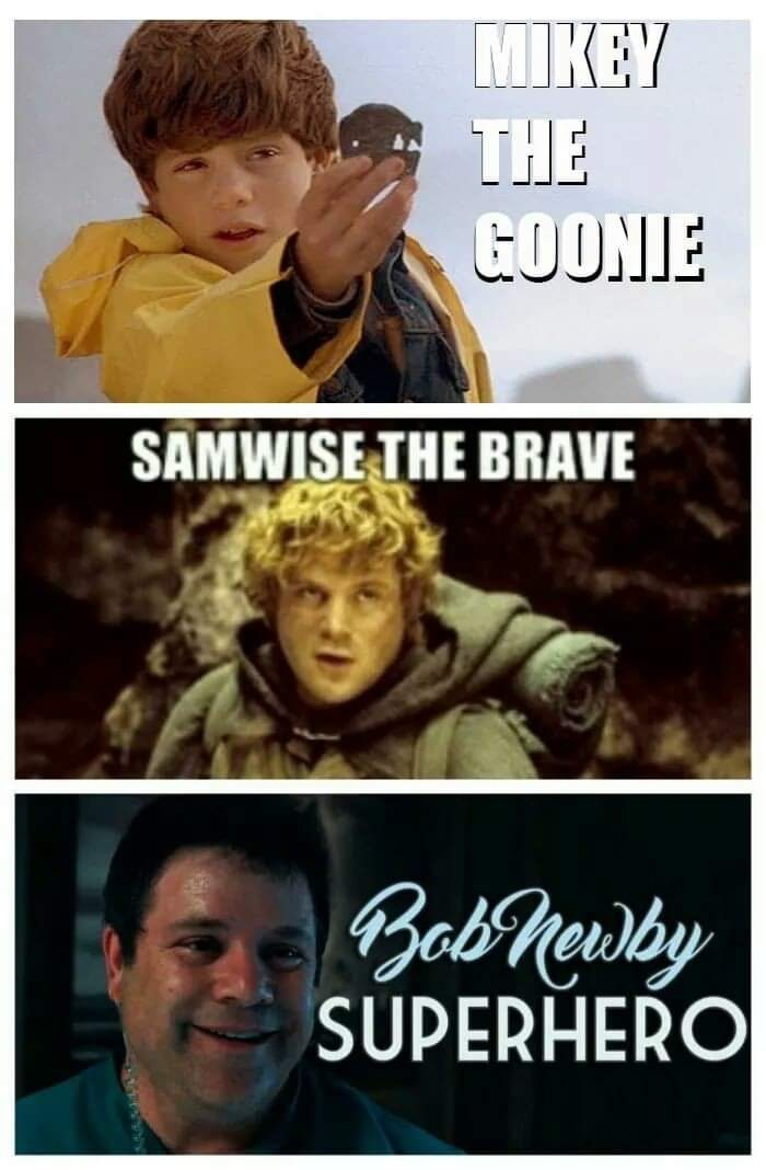 Photo caption - MIKEY THE GOONIE SAMWISE THE BRAVE Bol Rentry SUPERHERO