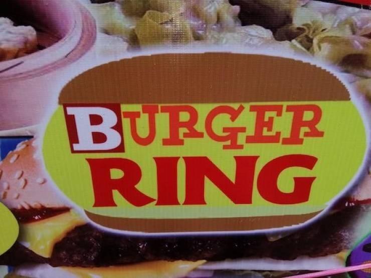 Food - BURGER RING