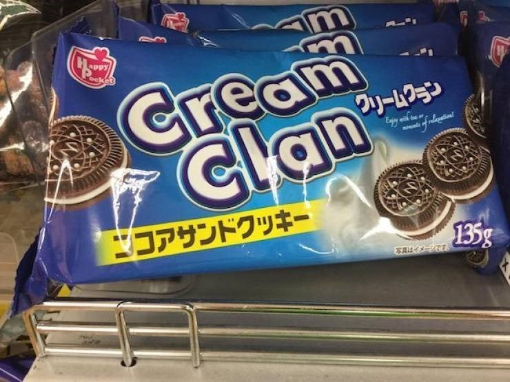 Oreo - am sket Cream Clan フリームクン ds ofnlenetion コアサンドクッキー 135g 写真はイメージです。