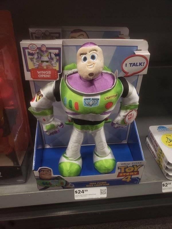 Toy - WINGS ITALK! OPEN! SPACE RANCER LIGHTYEAR TR ME ToY STORY aligal FLYENG UZ2 LIGNTYEAD $2499 $249