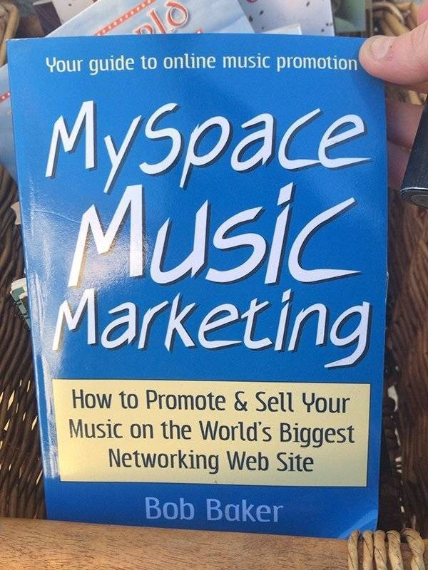 ironic - Font - Your guide to online music promotion Myspace MUsic Marketing How to Promote & Sell Your Music on the World's Biggest Networking Web Site Bob Baker