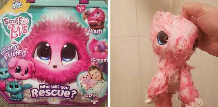 false advertisement - Pink - ACES SenF Wash gerufify Groom Who will you Rescue? Love