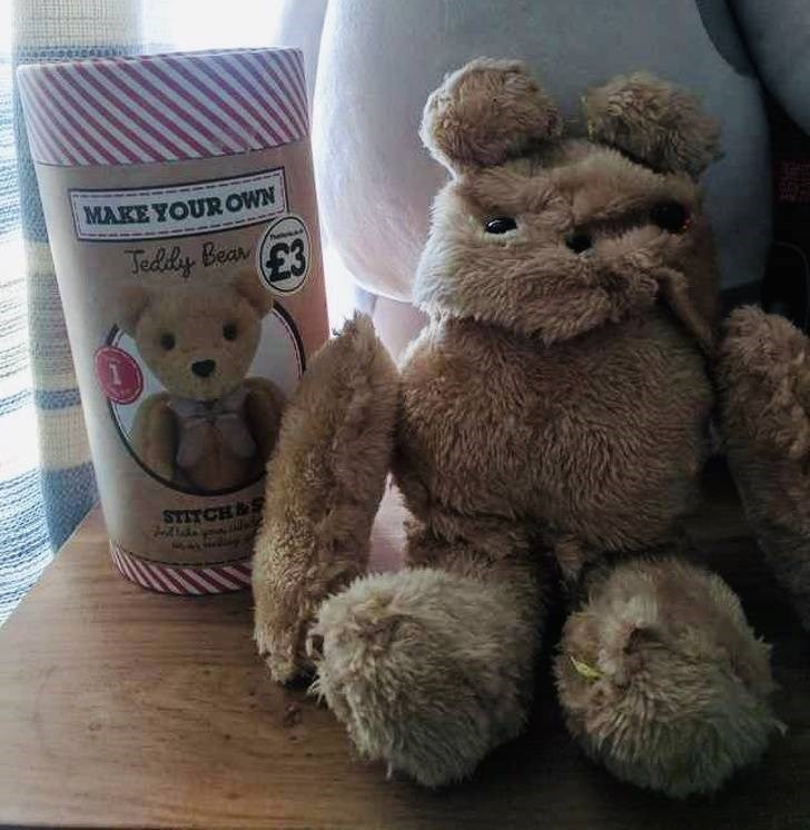 false advertisement - Stuffed toy - MAKE YOUR OWN Teddey Bear3 E3 STITCH&S