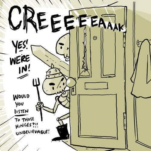 Parallel - CREEEEEA YES! WERE IN! WOULD you liSTEN To THOSE HINGES? UNBELIEVABLE
