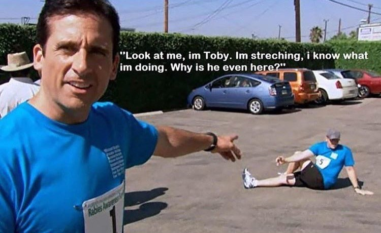 michael scott toby stretching the office memes