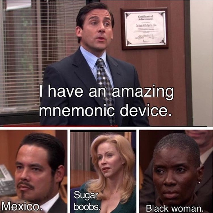 michael mnemonic device the office memes