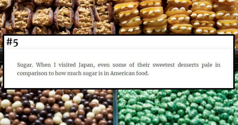 Americans share various things that they didn't realize were so American until they went abroad.