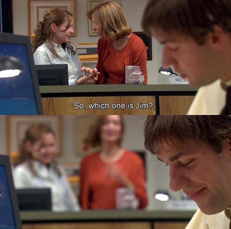 which one is jim the office memes