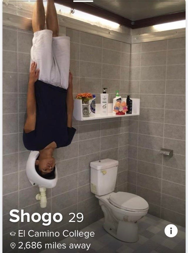 tinder - Toilet - Shogo 29 i El Camino College 2,686 miles away