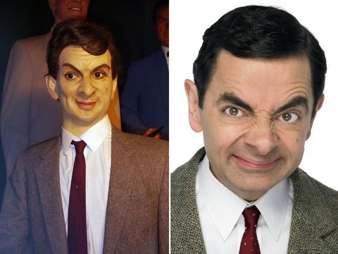 wax figure fail - Face