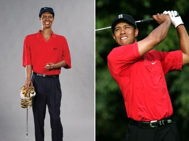 wax figure fail - Golfer