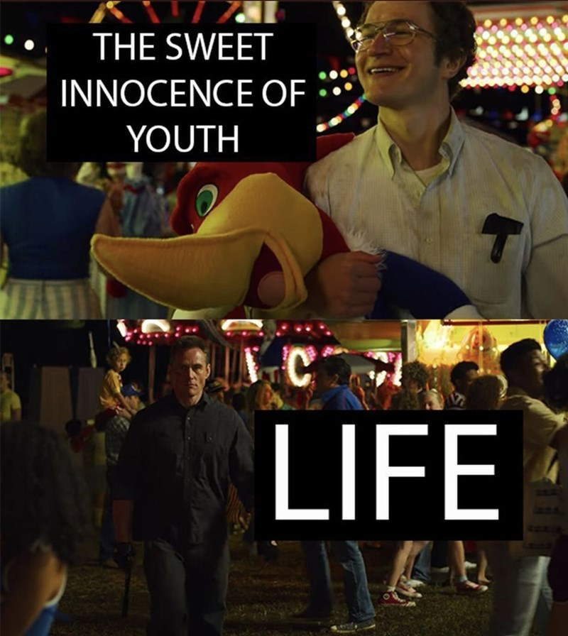 Meme - THE SWEET INNOCENCE OF YOUTH, LIFE