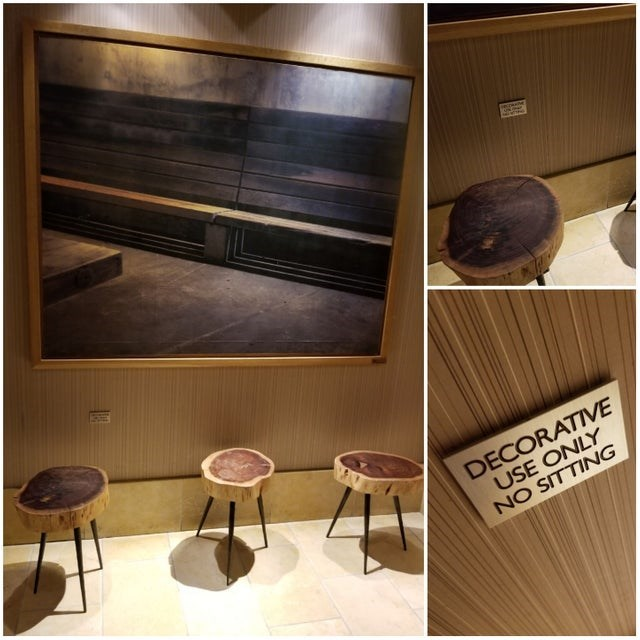 Furniture - DECORATIVE USE ONLY NO SITTING
