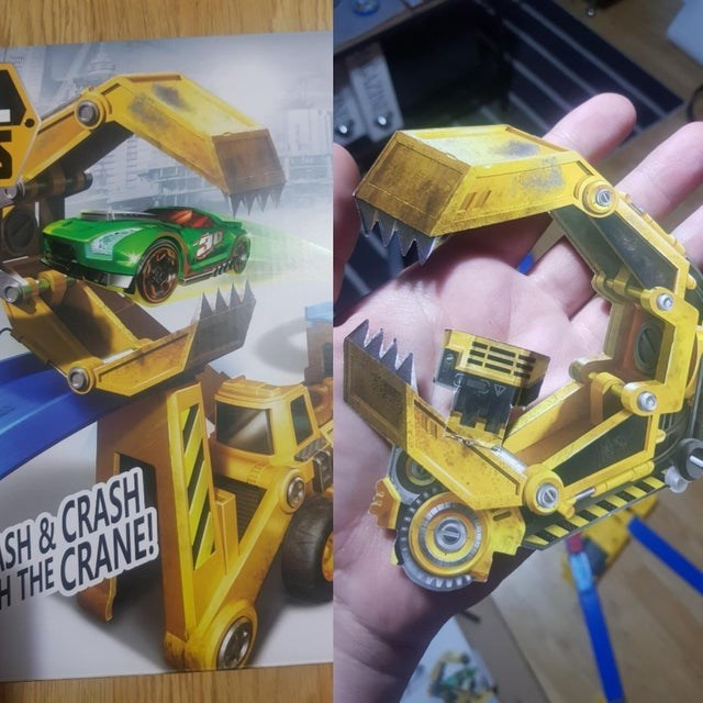 Yellow - SH&CRASH HTHE CRANE! LELE