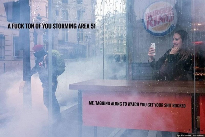 area 51 - Atmospheric phenomenon - URGER KING A FUCK TON OF YOU STORMING AREA 51 ME, TAGGING ALONG TO WATCH YOU GET YOUR SHIT ROCKED lya Varlamov I vartamov.ru