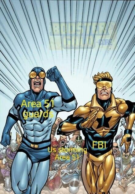 area 51 - Superhero - BU Area FBI Us stomg Area 5