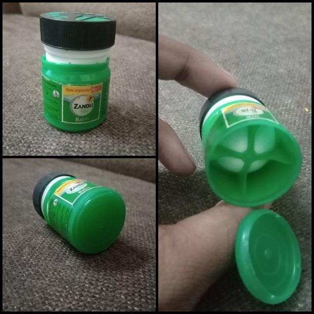 Green - New nproedC ZANDU Balm