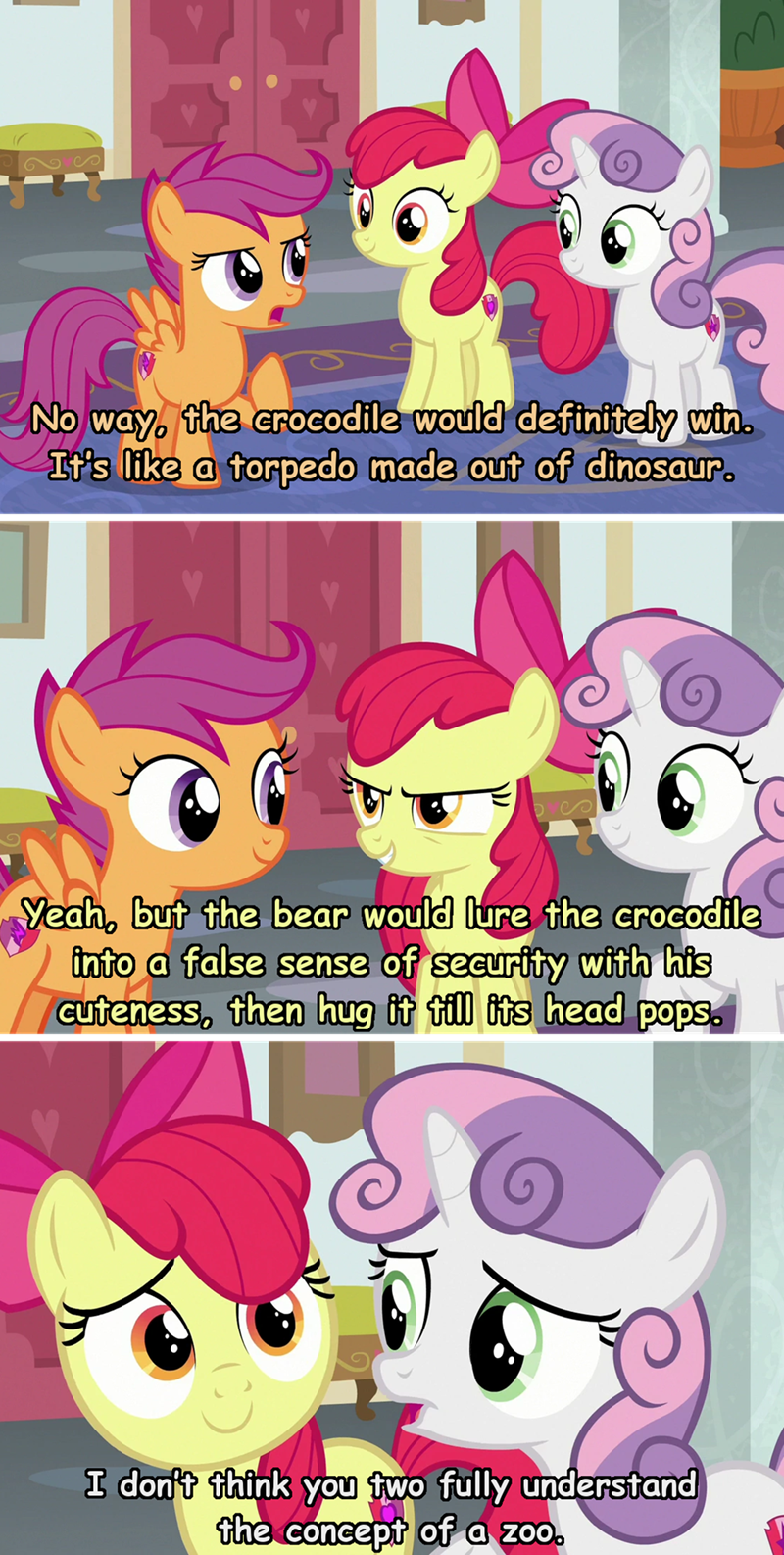 incorrect my little pony quotes Sweetie Belle apple bloom the amazing world of gumball Scootaloo - 9330436352