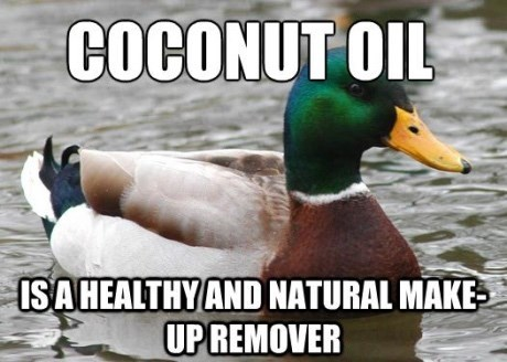 advice mallard - Bird - COCONUT OIL ISAHEALTHY AND NATURAL MAKE UPREMOVER