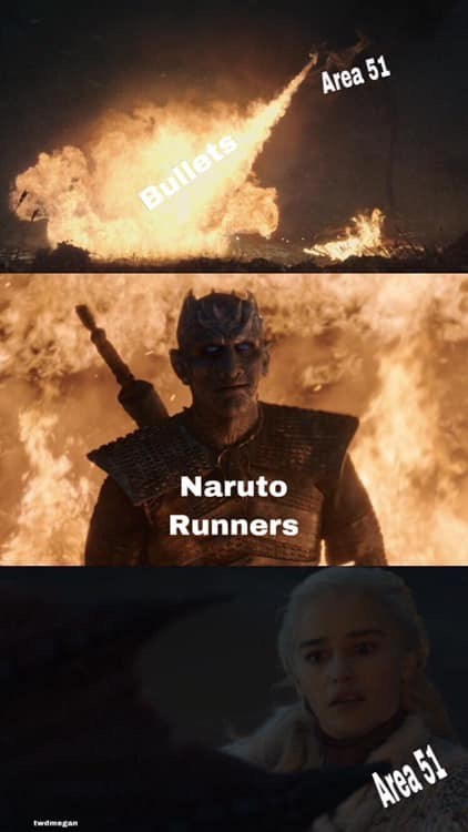 Area 51 Memes - Movie - Area 51 Bullets Naruto Runners twdmegan Area 51