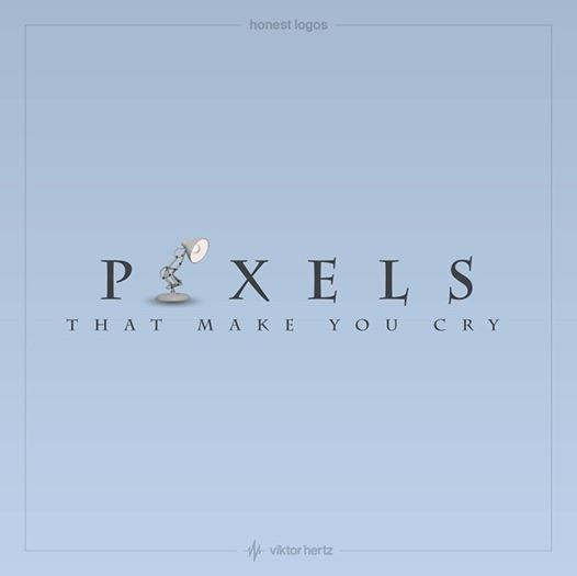 Text - honest logos P X E L S MAKE YOU CRY THAT viktor hertz