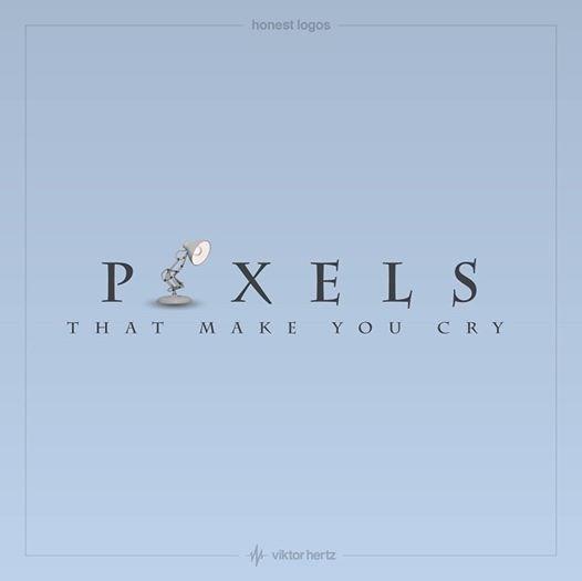 Text - honest logos P X E L S MAKE YOU CRY THAT viktor hertz