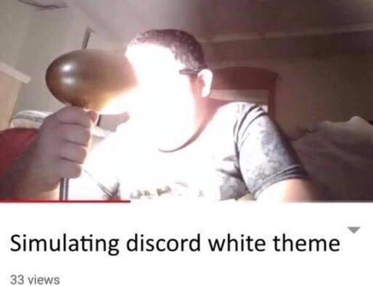 Meme - Head - Simulating discord white theme 33 views