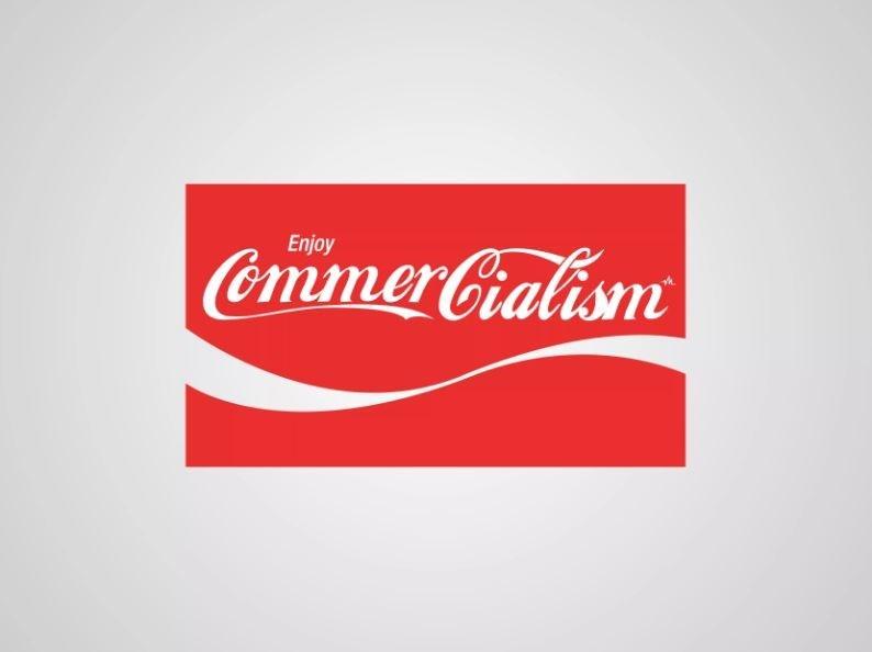 honest logo - Red - CommerCialism Enjoy
