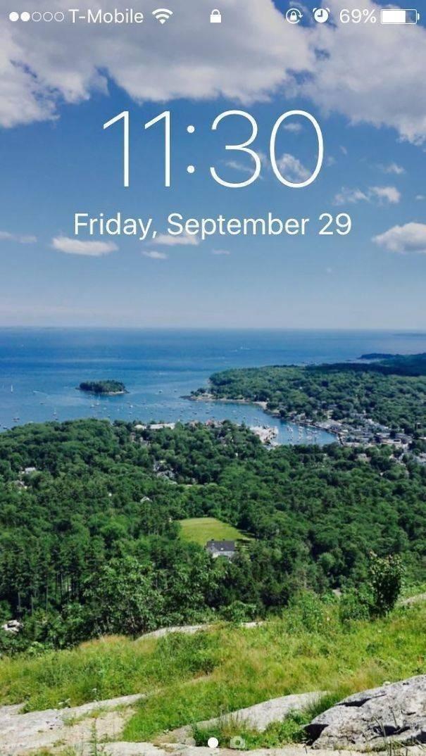 Natural landscape - @ O 69% oo0 T-Mobile 11:30 Friday, September 29