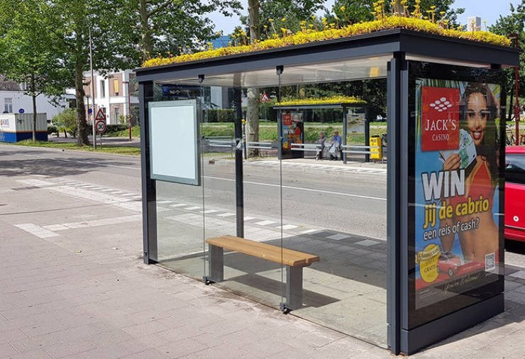 bees bus stop - Public space - WIN JACK'S CASINO WIN Jde cabrio een reis of cash? rat