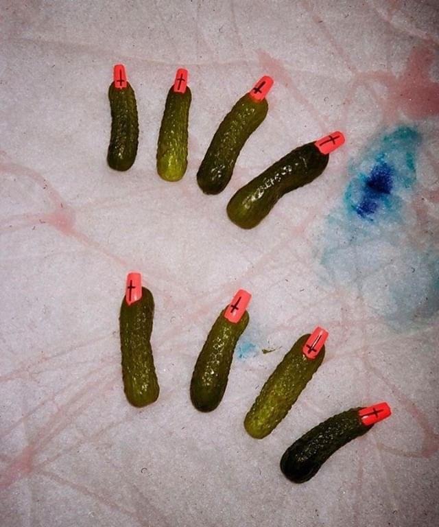 cursed image - Cucumber