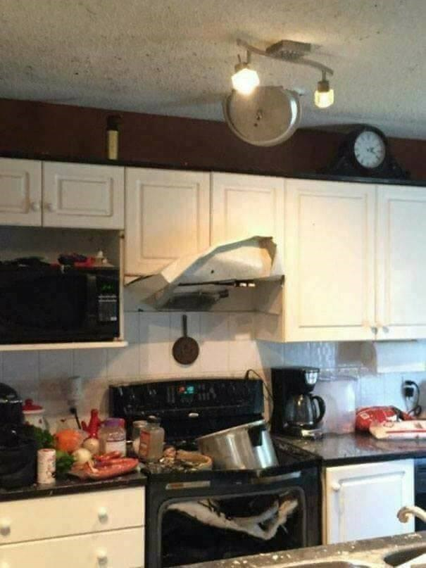 cooking fail - Room