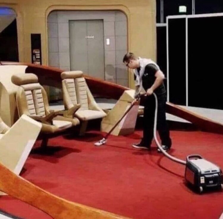 Picture - vacuuming