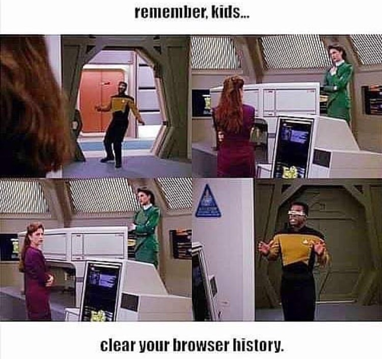 Fun - remember, kids... clear your browser history.