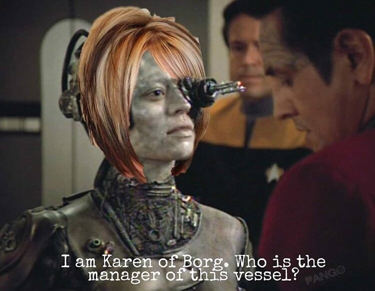 Human - I am Karen of Borg. Who is the manager of this vessel?NG PA